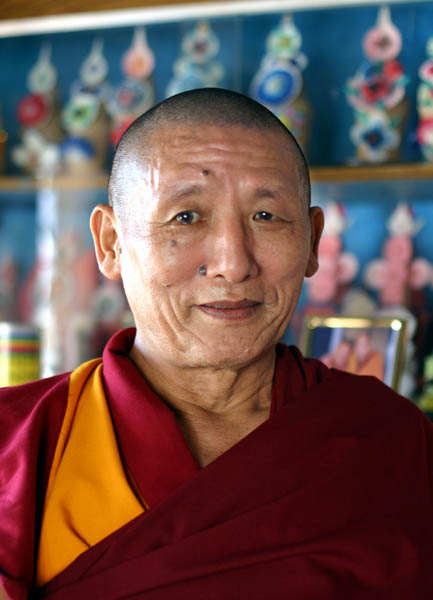 Geshe Losang Palden 2004, Photo Christof Spitz
